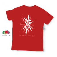 T-Shirt Kaluza & Co. - Rot - Band Merchandise